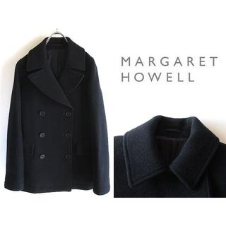 MARGARET HOWELL - 高級 マーガレットハウエル ウールカシミヤメルトン リーファージャケット
