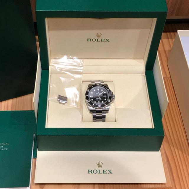 ROLEX - 新品未使用⭐️ロレックス サブマリーナ 116610LN 黒ROLEX 腕時計の通販