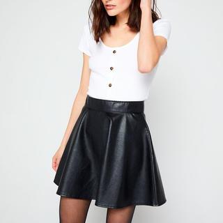 エタミンヌ(ETAMINNE)のフランスで購入⭐︎ etamレザーミニスカート(ミニスカート)