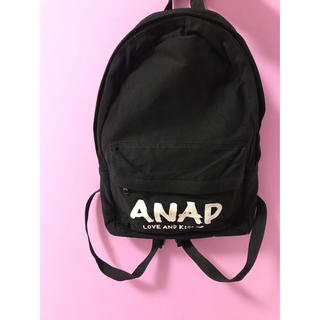 アナップ(ANAP)のANAP リュック 黒(リュック/バックパック)