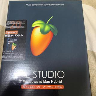 FL studio signature 解説本付き(DAWソフトウェア)
