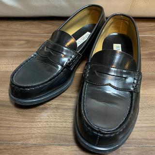ハルタ(HARUTA)のHARUTA ローファー 黒 ブラック 25 EEE(ローファー/革靴)