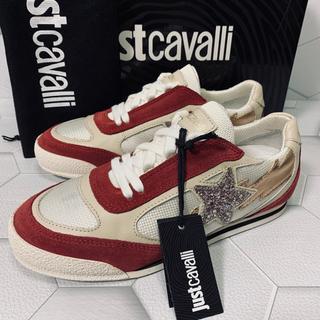 ジャストカヴァリ(Just Cavalli)のJUST CAVALLI  ladies  スニーカーロー (22.0)(スニーカー)