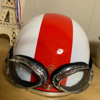ヘルメット 原付用 ハ-フキャップ(ヘルメット/シールド)