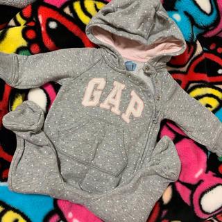 ベビーギャップ(babyGAP)のbabyGAP 足つきロンパース(ロンパース)