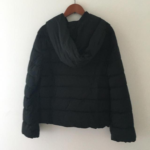 TOMORROWLAND(トゥモローランド)のballsey ボールジー ショート ダウンジャケット/38 黒 ブラック レディースのジャケット/アウター(ダウンジャケット)の商品写真