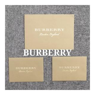 バーバリー(BURBERRY)の♡♡BURBERRY 封筒3枚セット♡♡(ラッピング/包装)