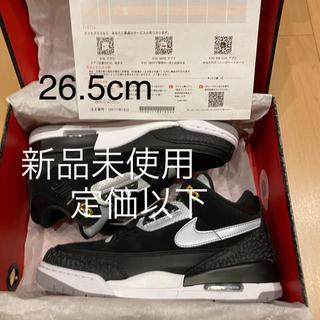 ナイキ(NIKE)の26.5 Nike Air Jordan 3 Retro Tinker 黒(スニーカー)