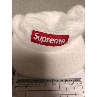 シュプリーム(Supreme)のfaux fur camp cap(キャップ)