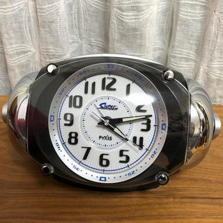 セイコー(SEIKO)のセイコー クロック 大音量目覚まし時計 ピクシス ライデン ブラック(置時計)
