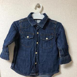 GAP - baby GAP  デニムシャツ 80