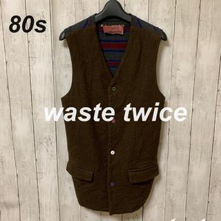 ウェストトゥワイス(Waste(twice))の【激レア!】wastetwice ウエストトゥワイス ベスト(ベスト)