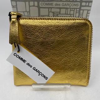 コムデギャルソン(COMME des GARCONS)のCOMME des GARCONS コインケース ゴールド 小銭入れ(コインケース)