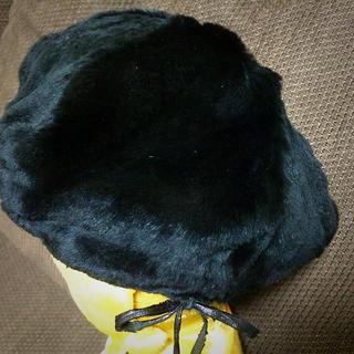 ジルスチュアート(JILLSTUART)のジルスチュアート ファーベレー(ハンチング/ベレー帽)