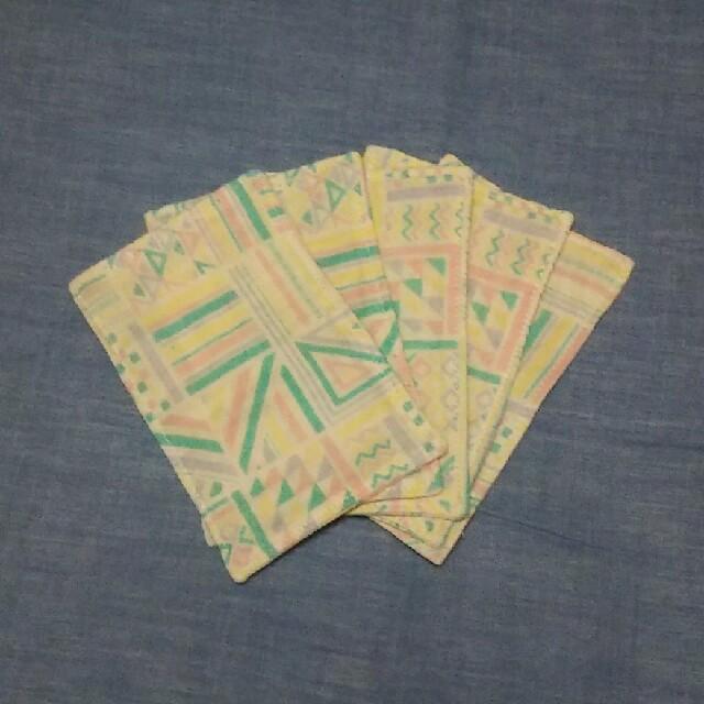 ハンドメイド☆ダブルガーゼ インナーマスク 5枚セットの通販