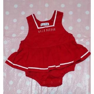 エル(ELLE)のベビー服 ELLE 女の子 80cm(カバーオール)