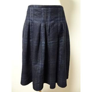 オールドイングランド(OLD ENGLAND)の美品★OLD ENGLANDオールドイングランドチェック柄スカート36 (ひざ丈スカート)
