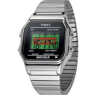 シュプリーム(Supreme)の19fw Supreme Timex Digital Watch Silver(腕時計(デジタル))