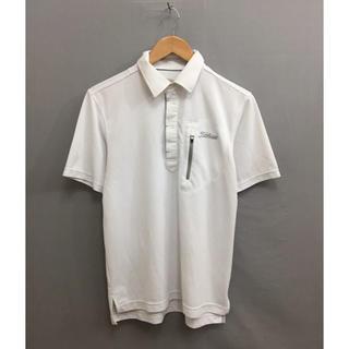 タイトリスト(Titleist)のタイトリスト Titleist ゴルフ ドライウェア ホワイト メンズ Mサイズ(ポロシャツ)