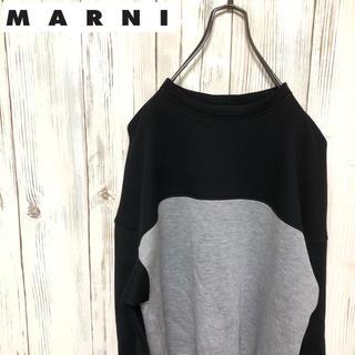 マルニ(Marni)の【希少】MARNI マルニ ラグランスウェット カットソー イタリア製(スウェット)