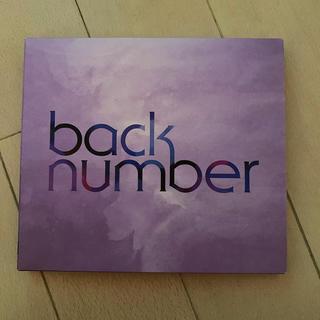 バックナンバー(BACK NUMBER)のback number シャンデリア 初回限定盤A(ポップス/ロック(邦楽))