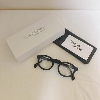 アヤメ(Ayame)のJACQUES DURAND 希少 506-002 ブラック 即完売品(サングラス/メガネ)