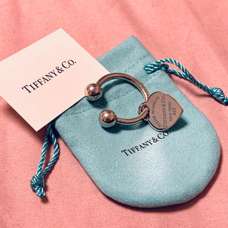 ティファニー(Tiffany & Co.)のリターントゥーティファニー ハートブルー キーリング(キーホルダー)
