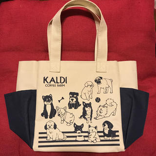 カルディ(KALDI)のKALDI 犬バック(犬)