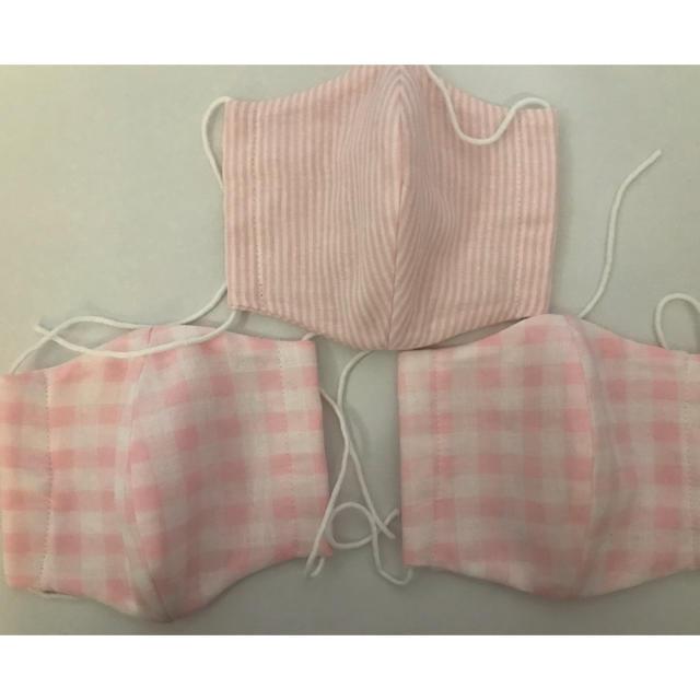 超立体マスク小さめ箱 | 女性用マスク 3組 花粉症の方などへの通販 by ruru27's shop