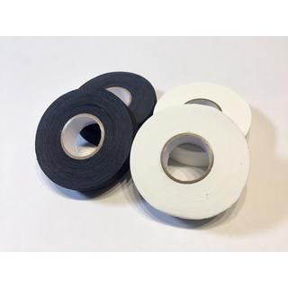 新品未使用 アイスホッケー スティックテープ 白2つ黒2つ(アメリカンフットボール)