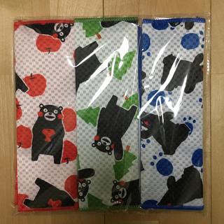 【新品】くまモン キッチン吸水マット 3枚セット(収納/キッチン雑貨)