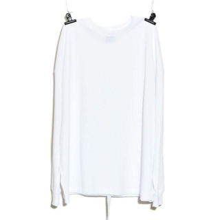 ピースマイナスワン(PEACEMINUSONE)のPeaceminusone Long Sleeve T-Shirt White(Tシャツ/カットソー(七分/長袖))