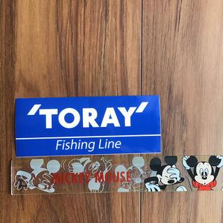 ダイワ(DAIWA)のTORAY釣りブランド ステッカー(その他)