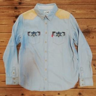 チチカカ(titicaca)の【送料込】チチカカ メキシカンなワークシャツ 着用少美USED (シャツ)