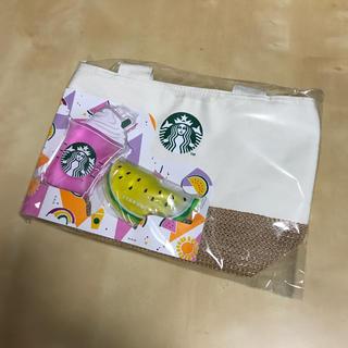 スターバックスコーヒー(Starbucks Coffee)のスタバ 保冷トートバッグ(トートバッグ)