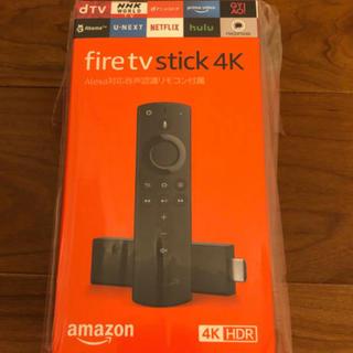 Fire TV Stick 4k- Alexa対応音声認識リモコン付属(映像用ケーブル)
