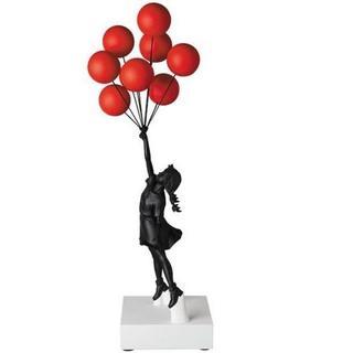メディコムトイ(MEDICOM TOY)のFlying Balloons Girl (Red Balloons Black(フィギュア)