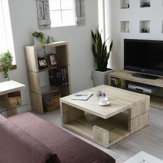 【送料無料】Sandbar Low Table / White(ローテーブル)