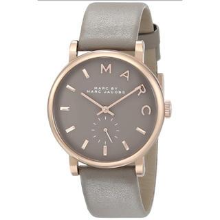 マークバイマークジェイコブス(MARC BY MARC JACOBS)のマークバイマークジェイコブス  腕時計 MBM1266 ベイカー グレーレザー(腕時計)