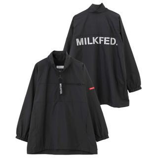 ミルクフェド(MILKFED.)の♦️ MILKFED.♦️ミルクフェド HALF ZIP UP BLOUSON(ブルゾン)