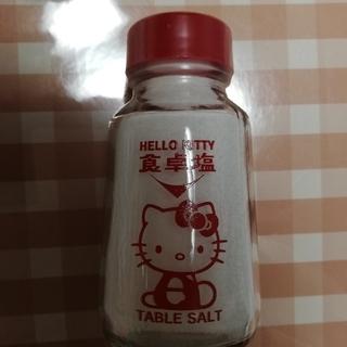 ハローキティ(ハローキティ)のハローキティ 食卓塩 新品未開封 送料無料(調味料)