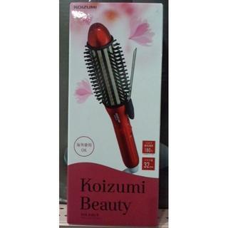 コイズミ(KOIZUMI)のKOIZUMIボリュームアップアイロンKHR-6100/R新品未開封(ヘアアイロン)