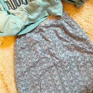ロキエ(Lochie)のヴィンテージ   スカート カットワークレースjantiques hooked(ひざ丈スカート)