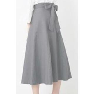 エル(ELLE)の新品☆【ELLE】とろみスカート(ひざ丈スカート)