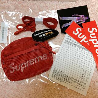 シュプリーム(Supreme)の新品 Supreme Small Shoulder Bag Red(ショルダーバッグ)