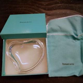 Tiffany & Co. - ティファニー ハートガラス 新品未使用