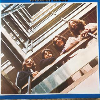 ビートルズ2枚組の1枚(レコード針)