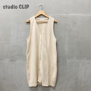 スタディオクリップ(STUDIO CLIP)の【studio  CLIP】ロングベスト ニット スタディオクリップ(ベスト/ジレ)