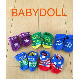 ベビードール(BABYDOLL)のbaby doll靴下5足セット(靴下/タイツ)