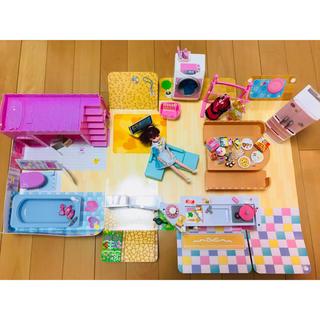 Takara Tomy - リカちゃんハウス ゆったりさん 人形 冷蔵庫 洗濯機付き